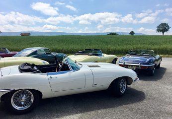 Swiss Jaguar-E-Type Club, Ausfahrten