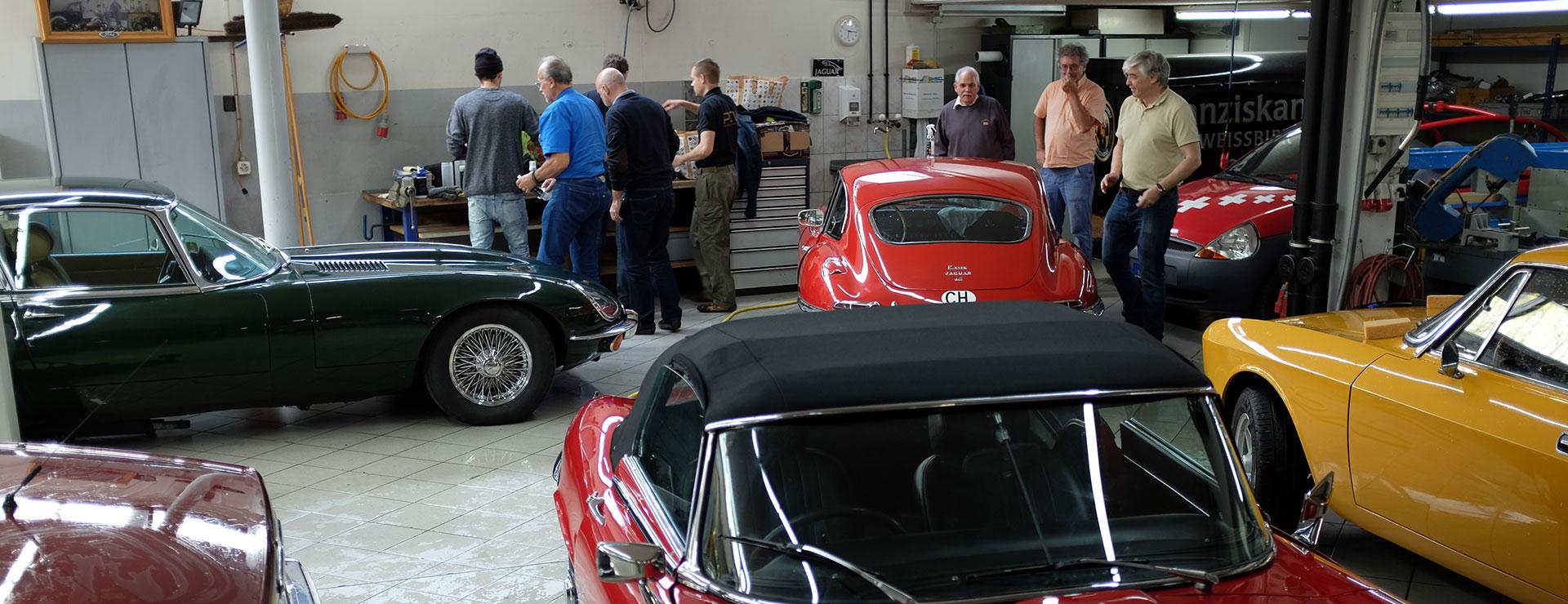 Swiss Jaguar E-Type Club